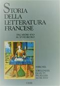Copertina dell'audiolibro Storia della letteratura francese – Tomo I – Parte I