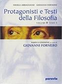 Copertina Protagonisti e testi della filosofia. B.1: Dall'Umanesimo al razionalismo