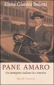 Copertina dell'audiolibro Pane amaro. Un immigrato italiano in America.