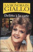 Copertina dell'audiolibro La signora in giallo. Delitto à la carte