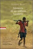 Copertina Memorie di un soldato bambino