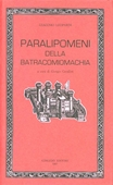Copertina dell'audiolibro Paralipomeni della Batracomiomachia