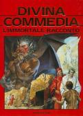 Copertina Divina commedia. L'immortale racconto di Dante Alighieri