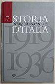 Copertina Storia d'Italia. Vol. 7: 1919-1936