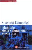 Copertina dell'audiolibro Manuale della valutazione scolastica di DOMENICI, Gaetano