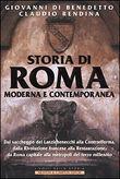 Copertina Storia di Roma moderna e contemporanea