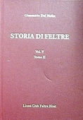 Copertina dell'audiolibro Storia di Feltre vol. V tomo II