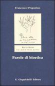 Copertina Parole di bioetica