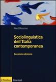 Copertina Sociolinguistica dell'Italia contemporanea