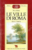 Copertina Le ville di Roma – vol. 2: Fuori le mura