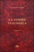 Copertina La somma teologica vol. 4
