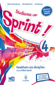Copertina Studiamo con sprint 4 – storia e geografia