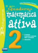 Copertina Il mio quaderno di matematica attiva 2