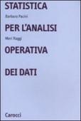 Copertina Statistica per l'analisi operativa dei dati