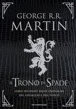 Copertina Il trono di spade: libro secondo delle cronache del ghiaccio e del fuoco