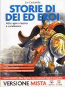 Copertina dell'audiolibro Storie di dei ed eroi – Mito ed Epica classica e cavalleresca