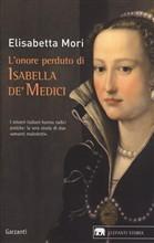 Copertina dell'audiolibro L'onore perduto di Isabella de' Medici