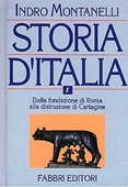Copertina dell'audiolibro Storia d'Italia Vol.1 Dalla fondaz. di Roma alla distruz. di Cartagine