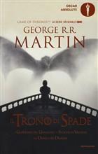 Copertina Il trono di spade: libro quinto delle cronache del ghiaccio e del fuoco