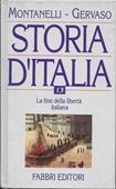 Copertina Storia d'Italia – vol. XIII