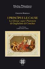 Copertina dell'audiolibro I princìpi e le cause: le Glosae super Platonem di Guglielmo di Conches