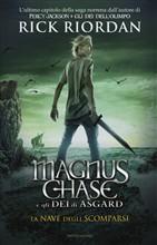 Copertina Magnus Chase e gli dei di Asgard – La nave degli scomparsi
