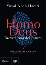 Copertina Homo deus: breve storia del futuro