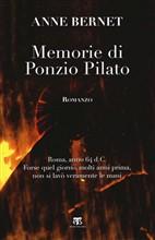 Copertina Memorie di Ponzio Pilato