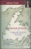 """Copertina dell'audiolibro Giornali di bordo vol.2 Il viaggio della """"Resolution"""" e dell' """"Adventure"""" 1772-1775"""