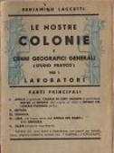 Copertina dell'audiolibro Le nostre colonie e cenni geografici generali (studio pratico) per i lavoratori