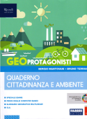 Copertina dell'audiolibro GEOprotagonisti 3 – quaderno cittadinanza e ambiente