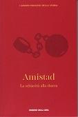 Copertina dell'audiolibro Amistad. La schiavitù alla sbarra