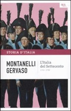 Copertina L'Italia del Settecento