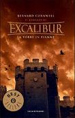 Copertina dell'audiolibro Il romanzo di Excalibur 3: La torre in fiamme