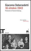 Copertina dell'audiolibro 16 ottobre 1943 di DEBENEDETTI, Giacomo