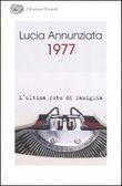 Copertina dell'audiolibro 1977