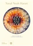 Copertina dell'audiolibro 21 lezioni per il XXI secolo di HARARI, Yuval Noah