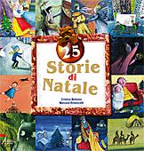 Copertina dell'audiolibro 25 storie di Natale di BELLEMO, Cristina