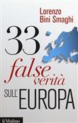 Copertina dell'audiolibro 33 false verità sull'Europa di BINI SMAGHI, Lorenzo