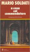 Copertina dell'audiolibro A cena con il commendatore di SOLDATI, Mario