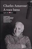 Copertina dell'audiolibro À voix basse di AZNAVOUR, Charles