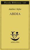 Copertina dell'audiolibro Abdia di STIFTER, Adalbert