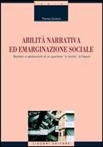 Copertina dell'audiolibro Abilità narrativa ed emarginazione sociale di GIULIANO, Patrizia