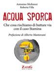 Copertina dell'audiolibro Acqua sporca – Che cosa rischiamo di buttar via con il caso Stamina di MICHIENZI, Antonino - VILLA, Roberta