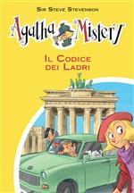 Copertina dell'audiolibro Agatha Mistery: Il codice dei ladri di STEVENSON, Steve sir