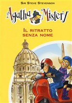Copertina dell'audiolibro Agatha Mistery: il ritratto senza nome