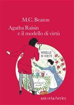 Copertina dell'audiolibro Agatha Raisin e il modello di virtù