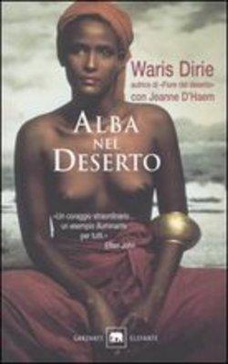 Copertina dell'audiolibro Alba nel deserto di DIRIE, Waris con D'HAEM, Jeanne