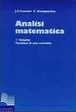 Copertina dell'audiolibro Analisi matematica – 1°Volume di CECCONI, Jaures-STAMPACCHIA, Guido