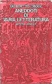 Copertina dell'audiolibro Aneddoti di varia letteratura vol. 4
